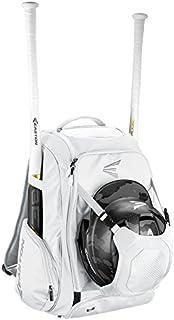 EASTON Walk-Off IV Bat & Equipment Backpack Bag | Baseball Softball | 2019 | 2 Bat Sleeves | Vented Shoe Pocket | External Helmet Holder | 2 Side Pockets | Valuables Pocket | Fence Hook