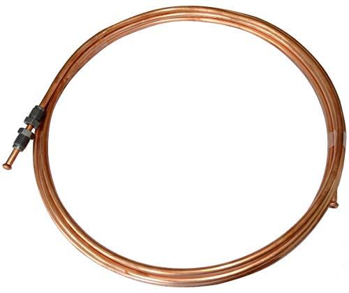 10m Tubo de Freno /Ø 4,75 mm Cobre-N/íquel DIN 74 234 Tubos de Cupron/íquel para Frenos Accesorios de Reparaci/ón por el Sistema de Frenado Tuberia del Freno de Recambio
