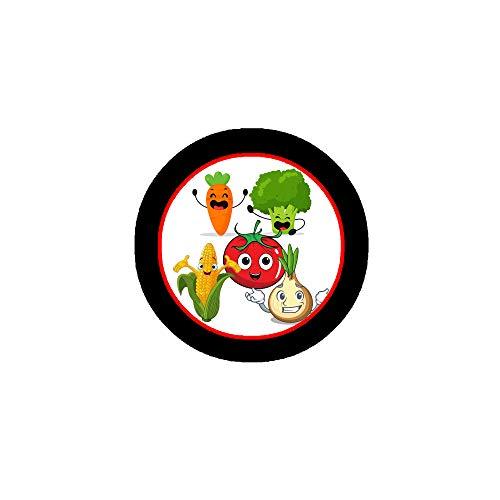 Gemüse, Brokkoli, Karotten, Mais, Zwiebeln, Tomaten, Gemüse, Lebensmittel-Stil, 3,2 cm, 12 Stück