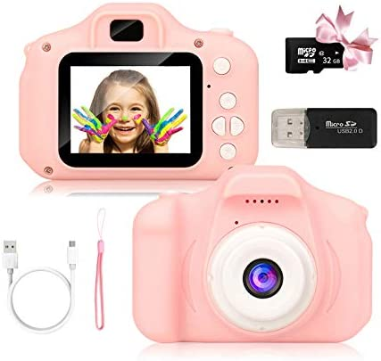 Kids Camera for Boys and Girls Digital Camera Toy Gifts Ideas for Birthday and Christmas Rechargeable product image