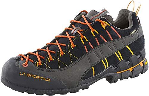 LA SPORTIVA Unisex-Erwachsene Hyper GTX Trekking- & Wanderhalbschuhe, Schwarz (Black 000), 40 EU