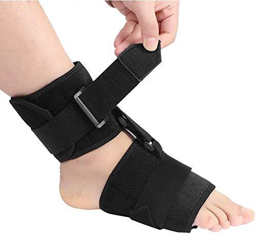 Wxnnx Soft AFO Foot-up - Ortesis ortopédica para caída del pie - Compresión Acolchada y cómoda para Mejorar la Marcha al Caminar, previene calambres, esguinces de Tobillo