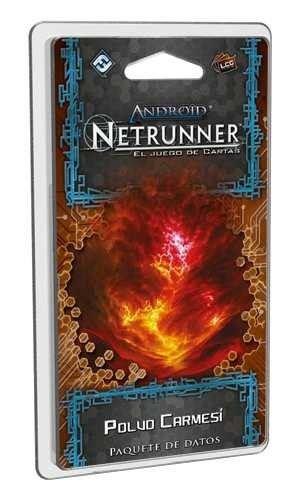 Fantasy Flight Games Android Netrunner LCG: Crimson Powder – Spanish...