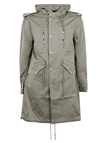 Balmain Luxury Fashion Herren TH18647Z1337AA Grau Baumwolle Mantel | Frühling Sommer 20