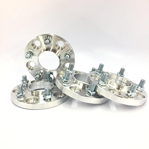 Customadeonly 4 Pieces 0.59' 15mm Hub Centric Wheel Spacers Adapters Bolt...