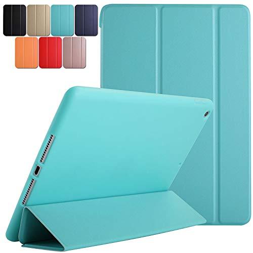 DuraSafe Cases For iPad Mini 4th Gen 2015 - 7.9 MK6K2LL/A MK6J2LL/A MK6L2LL/A MK9J2LL/A MK9H2LL/A MK9G2LL/A MK9P2LL/A MK9Q2LL/A Ultra Slim Case with Auto Sleep/Wake function & Classic TPU Back - Green