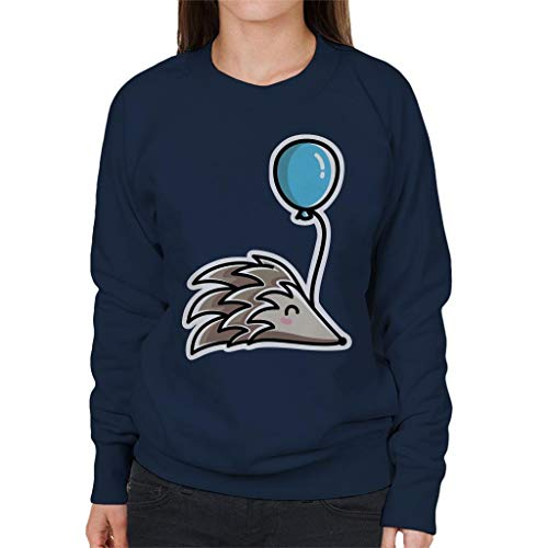 Cloud City 7 Hedgehog met een balloon dames sweatshirt