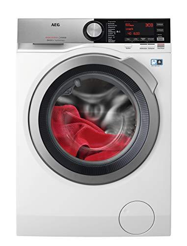 AEG L8WE86605 Waschtrockner / ÖKOMix – Faserschutz / 10,0 kg Waschen / 6,0 kg Trocknen / energiesparend / Mengenautomatik / Nachlegefunktion / ProSteam - Auffrischfunktion / Kindersicherung / 1600 U/m