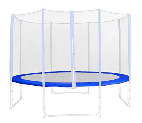 SixBros. Randabdeckung Blau für Gartentrampolin 1,85 M - 4,60 M - Ersatzteil Federabdeckung PVC - RA-543 - Größe 3,70 m 4L