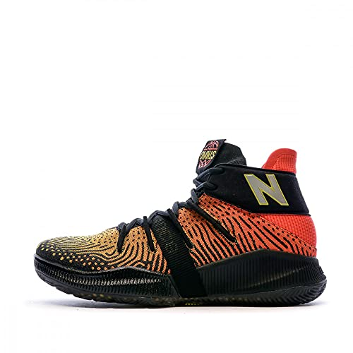 New Balance BBOMNXA1, Basketball Shoe Hombre, Red, 44 EU