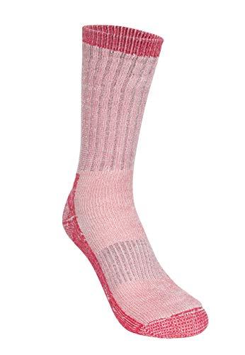 Trespass Damen Warme Socken Springer, Raspberry Marl, 3-6, FASOWAG10001_RBM3-6