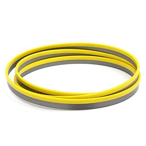 WYBW Hoja de sierra circular , 2921Mm X 27Mm X 14 Tpi M42 Kit de hojas de sierra de cinta bimetálicas para herramientas de corte de metal