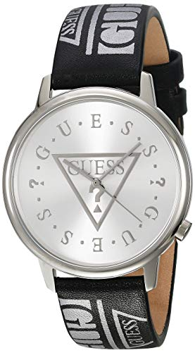 GUESS Reloj Analógico para Unisex Adulto de Cuarzo con Correa en Cuero V1008M1