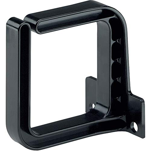 Panduit CMVDR2S Vertical Cable Management D-Ring, 2-Inch Wide, Black