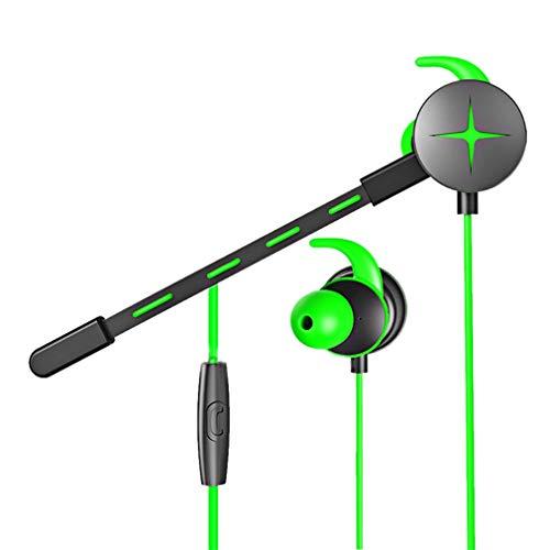 CCYOO V7 Gaming Kopfhörer Kopfhörer Stereo Bass Noise Cancelling Kopfhörer Für iPhone Computer Handy Xbox One PS4,Green