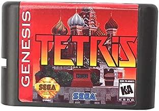 Goonpetchkrai.rapat7498 Tetris 16 Bit Md Game Card For Sega Mega Drive For Genesis