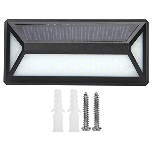 zhoul Luz Solar LED para Exteriores, lámpara de Pared con Sensor de Movimiento IP65 Luz de Pared Solar Impermeable para Valla de jardín, Puerta, Patio, Camino de Garaje