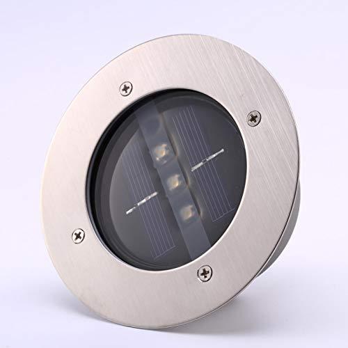 Omabeta Luz Solar para Paisaje Lámpara de Suelo Solar Luz de Camino LED Terrazas de jardín LED para Espacios al Aire Libre