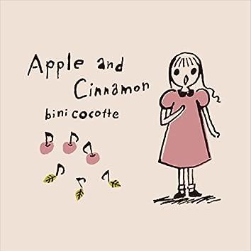 Apple and Cinnamon