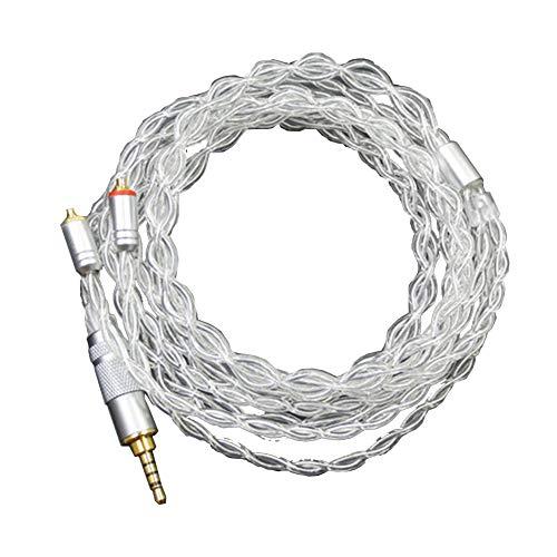 Generis MMCX Equilibrar Cable 2.5mm Jack Auricular Cable para Shure SE215 SE315...