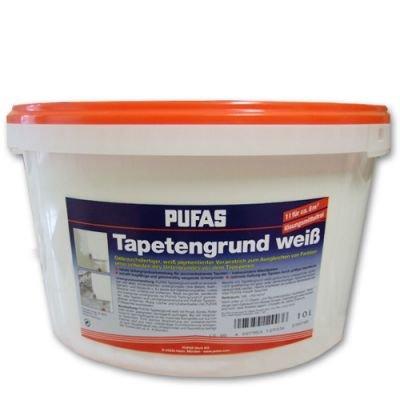 Pufas Tapetengrund 10 Liter weiss Tapeziergrund
