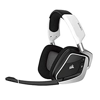 Corsair CA-9011153-NA Void Pro RGB Wireless Gaming Headset - Dolby 7.1 Surround Sound Headphones for PC - Discord Certified - 50mm Drivers - White (B0748MTZ1C) | Amazon price tracker / tracking, Amazon price history charts, Amazon price watches, Amazon price drop alerts