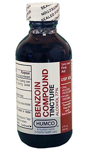 Benzoin Compound Tincture USP 2 oz