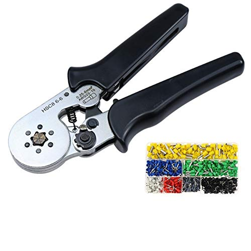 U/D Pimbuster Crimpzange HSC8 6-6 6-4 Crimper kablo kesici Zange Kabel Crimpwerkzeuge plier Drahtabschneider alicate crimpador alicates (Color : HSC8 6 6B 700tube)
