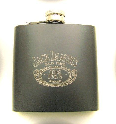 Jack Daniels Flachmann - Schwarz