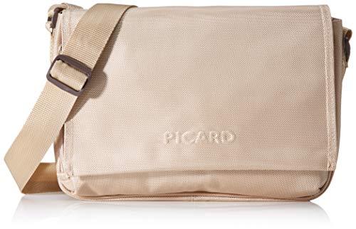 Picard Damen HITEC Umhängetaschen, Weiß (Creme), 31x21x11 cm