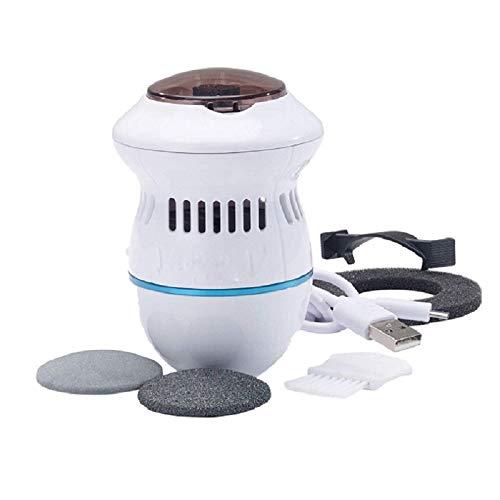 Elektronische Fußfeilen Elektrisches Kallusentferner-Fußpediküre-Werkzeug Wiederaufladbare USB-Fußpflegetools zum Entfernen von Hornhaut rissige, trockene, tote Haut