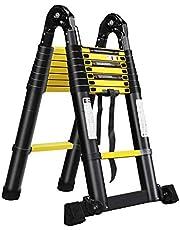 LARS360 Telescopische ladder multifunctionele ladder uittrekladder multifunctionele ladder hoogwaardige aluminium ladder