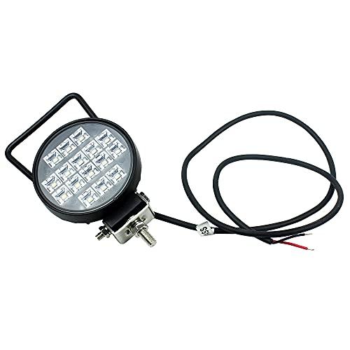16 LED 16 W 3.5 'LED TRABAJO LED Barra de luz Interruptor de encendido Inundación / Spot 12V 24V Offroad LED LED Barra de luz para camión Offroad 4x4 4WD Coche SUV ATV ( Color : 1 pc Working Light )