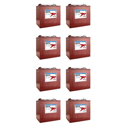 Why Should You Buy banshee 8 Pack of Trojan T105 Deep Cycle Batteries for Duffy Boat 21' Old Bay