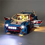 JXJ Kit Luci per Modelli di Auto da Costruzione Rally - Set Luci A LED Compatibile con 42077, Collezione di Veicoli da Corsa (Nota: Modello Non Incluso)
