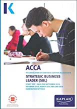 strategic business leader study text