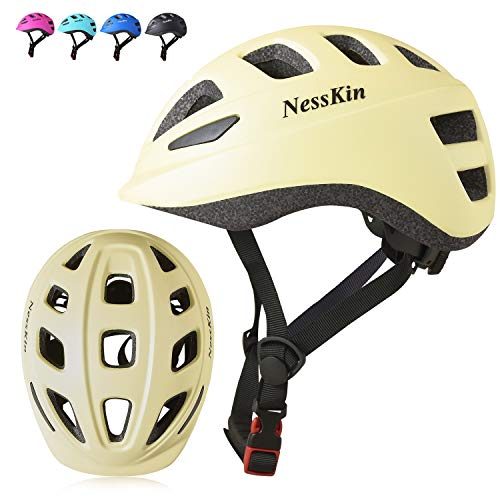 NESSKIN Toddler Bike Helmet - Adjustable from Infant to Toddler Size, Ages 2 to 5 - CSPC Certified Kids Boys and Girls Bicycle Scooter Roller Skating Helmets Boys and Girls