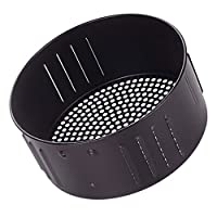 BESTOMZ エアフライヤー交換バスケットエアフライヤーアクセサリーキッチン食品バスケット黒3。5L