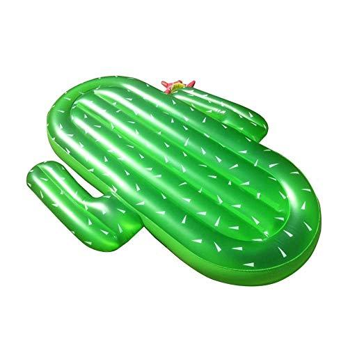 min min CACIDOS DE AIRSULCIONES PVC Cactus Silla DE Fila DE Fila DE Agua DE NIÑO Nativo DE Agua Anillo DE NADORES Montaje Inflable Cama Flotante Flotar