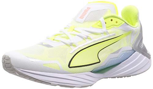 PUMA Ultraride, Zapatillas para Correr de Carretera Hombre, Blanco White/Fizzy Yellow, 42 EU