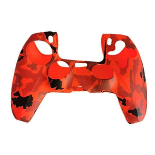 Housse de protection colorée en silicone pour Playstation PS5