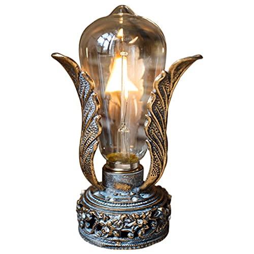 noyydh Linterna de Viento de Aves, lámpara de Mesa de Emergencia de luz Nocturna, Decoraciones Retro nostálgicas de Hierro Forjado, Decoraciones de Mesa, 10x17cm (Color : A)