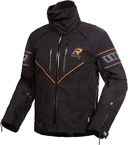 Rukka Realer GTX Giacca tessile moto Schwarz/Orange