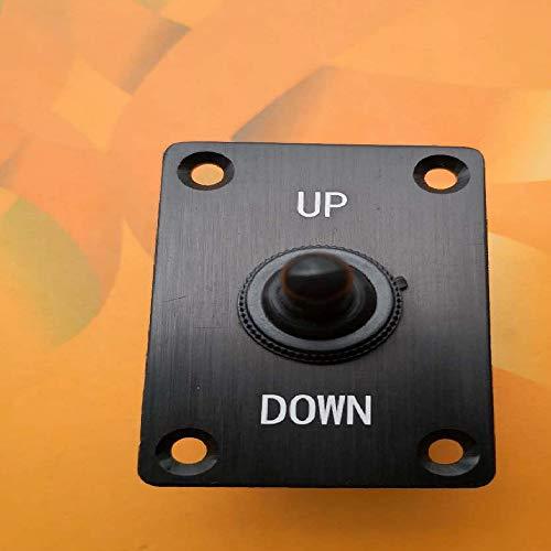 ELECTRONIC-MEI Interruptor yate Barco de torsión de Aluminio de Superficie lengüeta del Ajuste del Interruptor eléctrico Interruptor Arriba Abajo