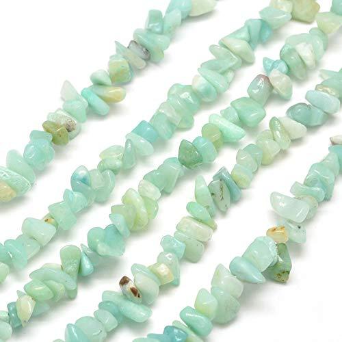 120 pezzi di perle di amazzonite, 5 ~ 8 mm, pietre semipreziose per gioielli fai da te e collane, G173