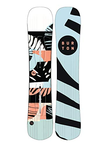 Burton Damen Hideaway Snowboard, No Color, 152