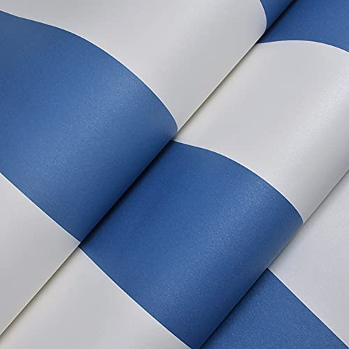 Swinno Papel pintado autoadhesivo a rayas de papel pintado de papel pintado moderno decorativo papel de pared resistente al agua para cocina, salón, dormitorio, papel pintado a rayas, 0,53 m x 5 m