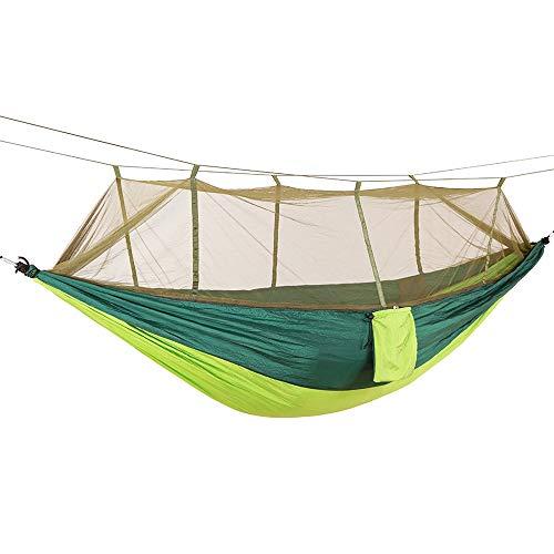 Portátiles livianos Toldos de paracaídas Camping Mosquito Beneficios Hamacas para excursiones Exteriores Mochilero de Viaje Estilo 12 Toldo (Color : I)