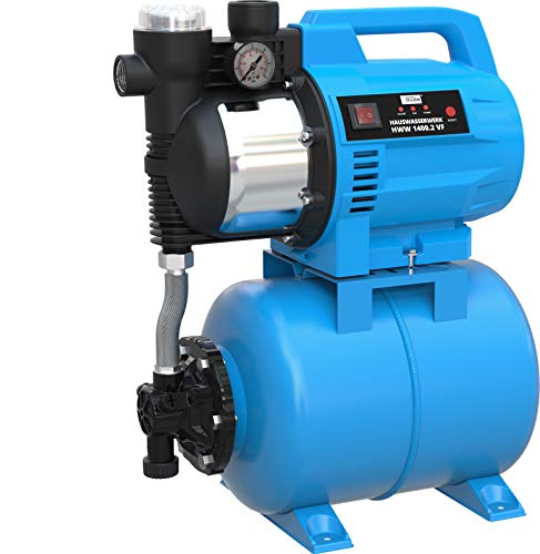 GÜDE Hauswasserautomat HWW 1400.2 VF (4800 Liter Fördervolumen, 24 Liter Stahltank) 93908