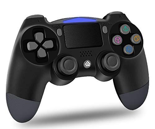Maegoo Wireless PS4 Controller, Bluetooth Controller PS4 Joystick Gamepad per PS4/Slim/Pro, Controller di Gioco con Vibrazione Dual Shock, Somatosensoriale a 6 Assi, Touch Panel, Audio